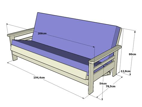 futon madera futon sof 225 cama navi 183 sof 225 cama de madera para futon