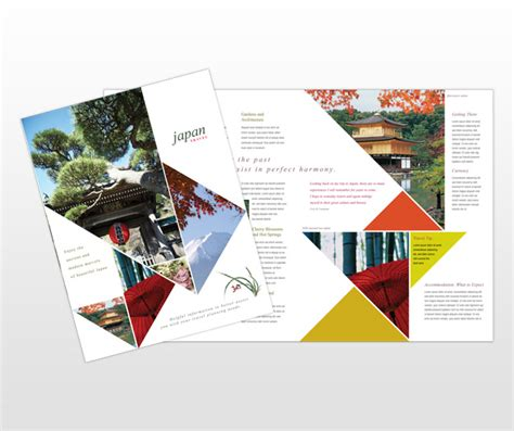 japan travel brochure template 1000 images about inspiration depliant on