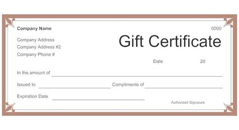 printable gift certificates for restaurants restaurant gift certificate template out of darkness