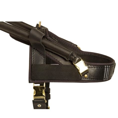 velcro harness guide and assistance leather swiss mountain harness h18 1116 guide leather