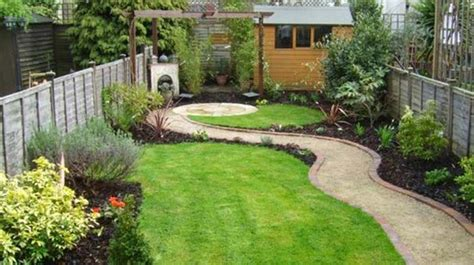 long narrow backyard landscaping ideas small garden design ideas quiet corner