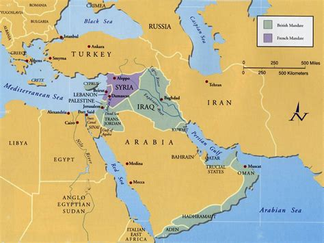 middle east map pre world war end of the war facts on world war 1