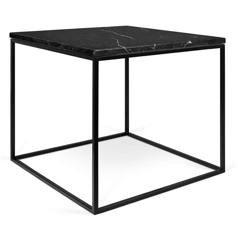modern side table gleam black marble modern side table by temahome eurway