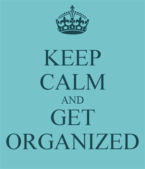 Get Organised by 3 Strategies For Organising Your Home Without Getting