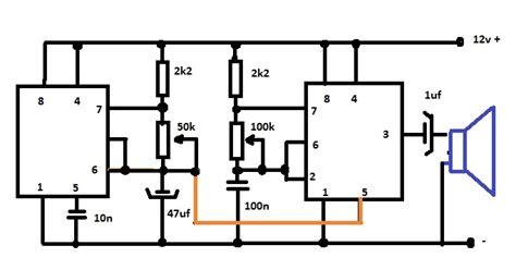 gambar kapasitor 100n membuat rangkaian sirine polisi dengan ic ne555 masputz