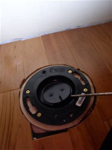 Remove Closet Flange by How To Install A Toilet Part 2 Workshop