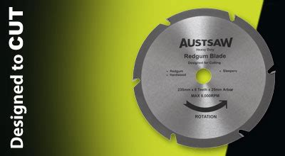 Cutting Sleepers With A Circular Saw by Austsaw Sleeper Blade Circular Saw Cutting Blades