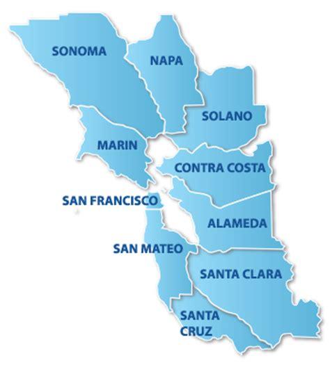 san francisco region map san francisco bay area county map michigan map