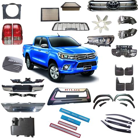 Auto Accessoires by One Stop Auto Spare Replacement Parts Toyota Hilux Revo