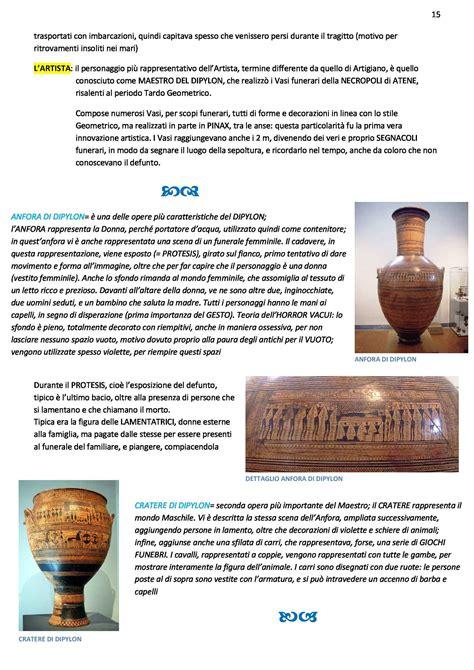 arte greca vasi archeologia e storia dell arte greca appunti con