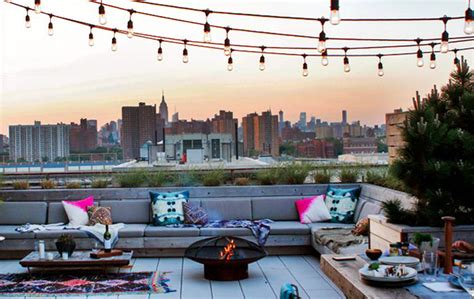Home Theater Design Nyc rooftop terraces brooklyn terrace rooftop brooklyn