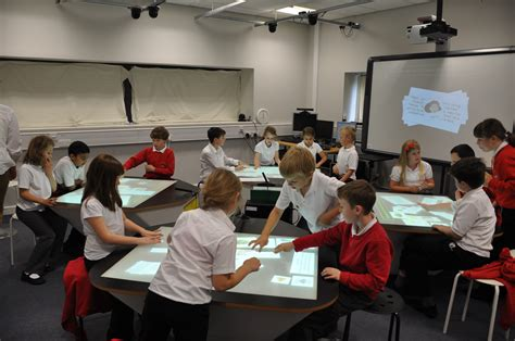 a pattern language for interactive tabletops in collaborative workspaces star trek classroom the next generation of school desks