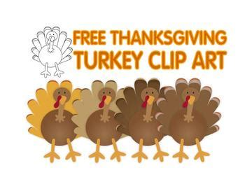 Free Thanksgiving Art Free Thanksgiving Turkey Clip Art By Lita Lita Tpt