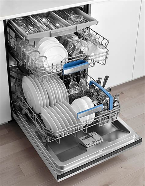 Bosch Dishwasher 3rd Rack by Stainless Steel Dishwasher How To Clean Bosch Stainless