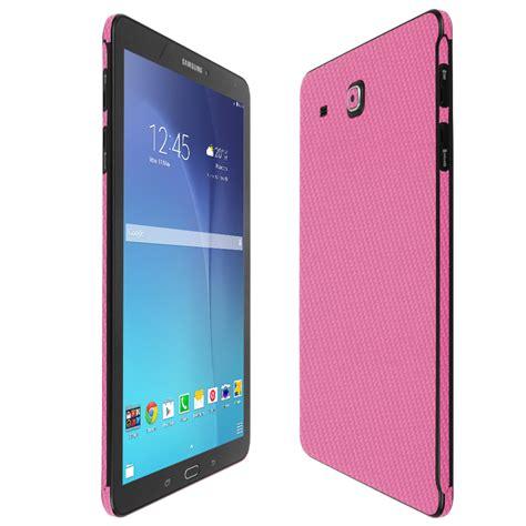Samsung Tab Warna Pink skinomi techskin samsung galaxy tab e 9 6 pink carbon