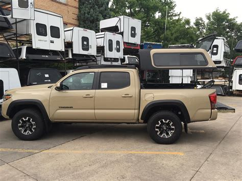 Magnetic Gray 16 tacoma overland topper ez lift suburban toppers