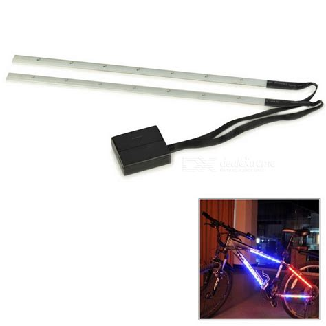 Led Light Strips For Bikes Bicycle Bike Decorative 3 Mode 14 Led Light Black White 2 X Aaa Free Shipping