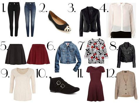 High School Wardrobe by Devotion Back To School Clothes Wishlist