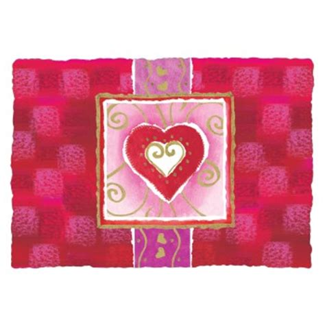 valentines placemats seasonal occasions placemats printed paper