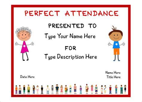 20 Attendance Certificate Templates Doc Pdf Psd Free Premium Templates Attendance Award Template