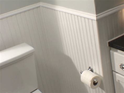 Bathroom Beadboard Installation Ideas For Decorating With Beadboard In A Bathroom Ehow Uk