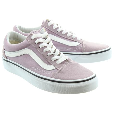 lilac shoes vans canvas skool shoes in lilac in lilac