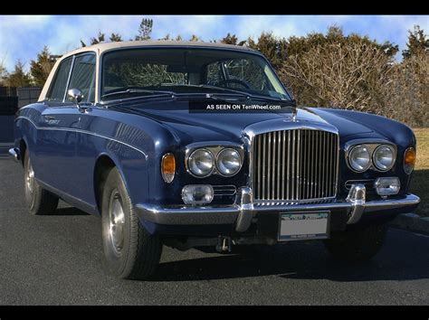 bentley corniche 1973 bentley corniche 6 8l coupe fhc body by m p w