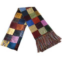 Patchwork Scarf - black co uk multicolour patchwork silk scarf with