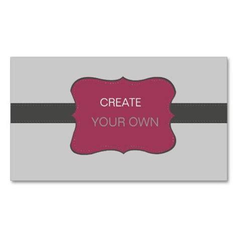 create your own business cards photography business