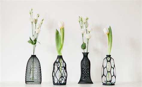 eco printed plant holders plastic bottle vase