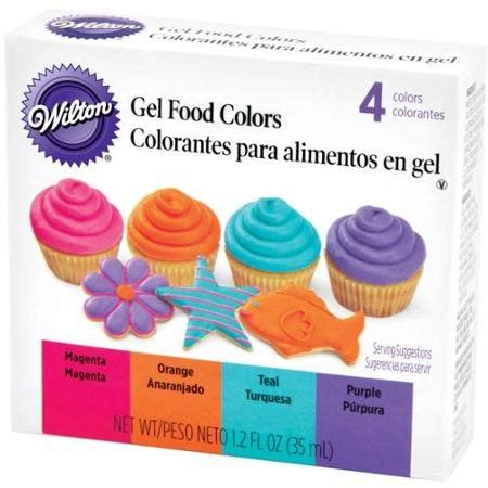 food coloring walmart wilton neon gel food colors set 4ct walmart