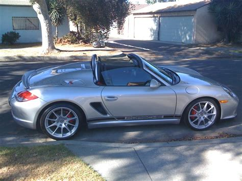 modified porsche boxster spyder modifications any available 6speedonline