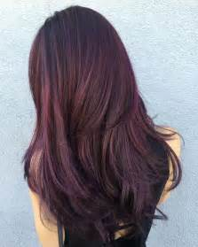 purple brown hair color 50 shades of burgundy hair burgundy maroon