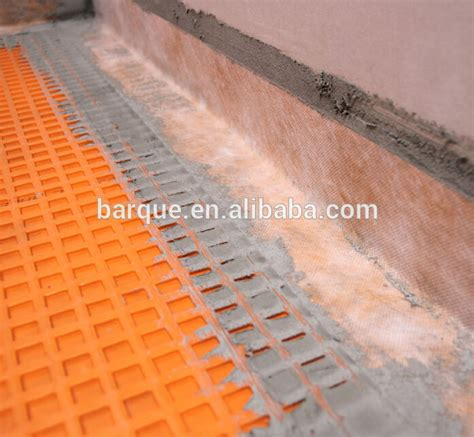 uncoupling membrane used for waterproof flooring underlayment underlay for ceramic floor tile