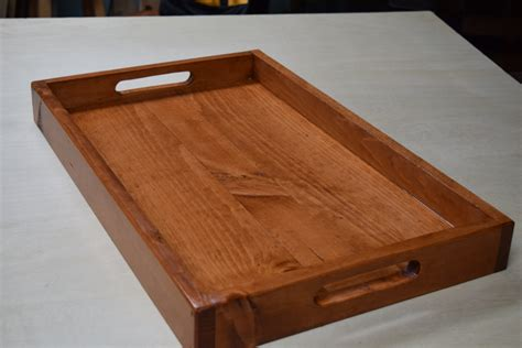 wooden serving trays for ottomans wooden serving tray ottoman tray breakfast serving tray