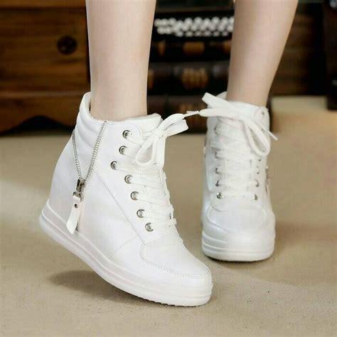 Sepatu Wanita Cewek Murah Kets Ootd Kekinian jual bd02 sale sepatu sendal sandal wedges terjual