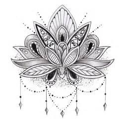 Lotus Flower Mandala Quot Mandala Lotus Flower Quot By Mermaidnatalie Redbubble