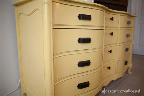 Yellow Bedroom Dresser Yellow Painted Dresser Infarrantly Creative