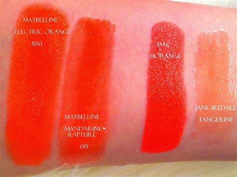 Lipstik Maybelline Orange fashion maven orange fave