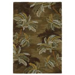 Palm Tree Runner Rug Kas Rugs Sparta Palm Trees Moss Area Rug Reviews Wayfair