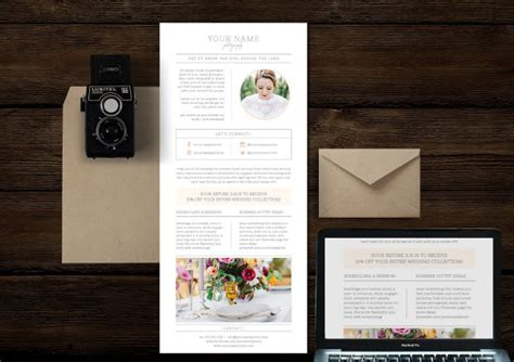 newsletter templates photoshop email newsletter templates free premium