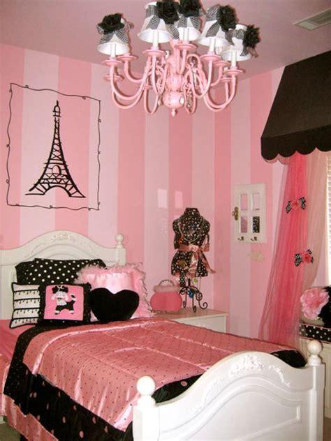 stencil and pattern ideas for girl s bedrooms royal habitaciones juveniles rosa negro y cebra imagui