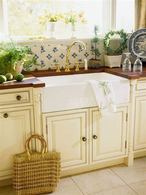 cottage kitchen sinks farmhouse sink ideas for cottage style kitchens