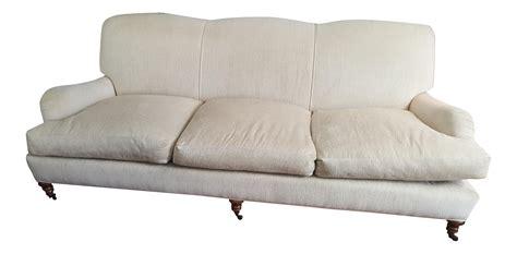 lee industries chenille roll arm sofa chairish