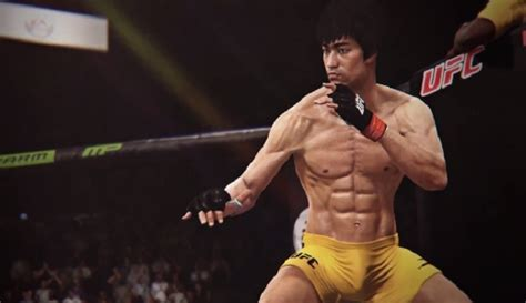 Watch bruce lee fight in the new ea sports ufc video game video