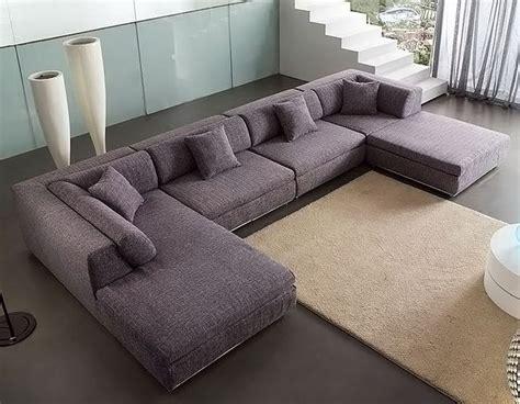 sectional sofas u shaped u shaped fabric sectional sofa am b330 field point