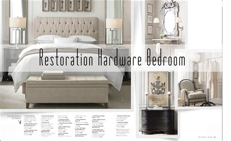 restoration hardware bedroom ideas get the look for less restoration hardware bedroom