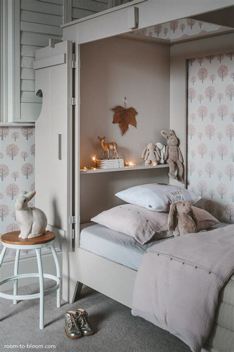 soft grey bedroom girl s bedroom design a room for charlotte room to bloom