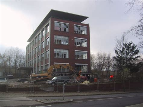 bergmannsheil bochum haus 3 4haus die abbrucharbeiten