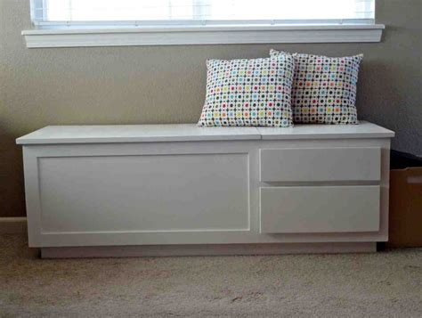 White Storage Bench White Wooden Storage Bench Home Furniture Design